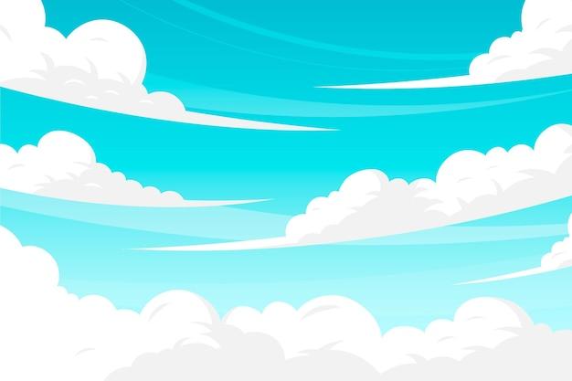 Tema carta da parati sky