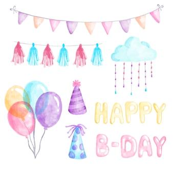 Tema della decorazione di compleanno