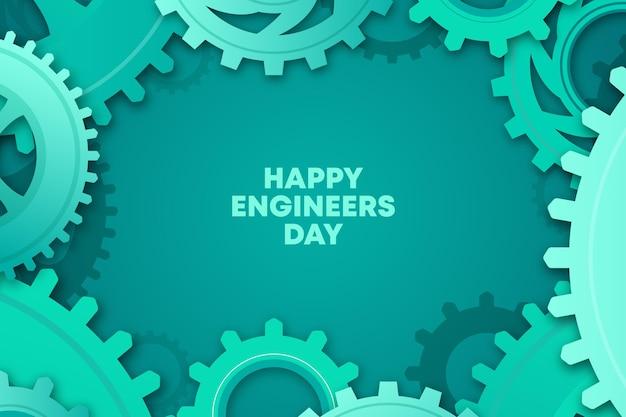 Tema di celebrazione del giorno degli ingegneri