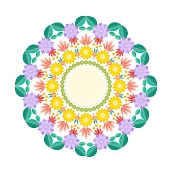 Tema di decorazione floreale onam