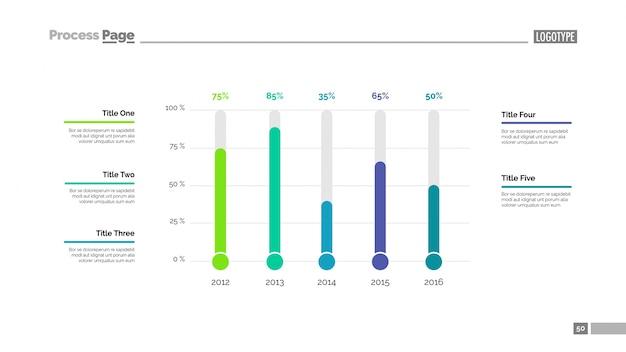Tema di diapositiva di confronto timeline