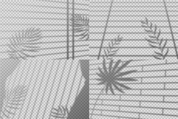 Tema di effetto di sovrapposizione di ombre astratte