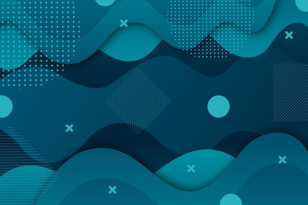 Tema di sfondo blu classico