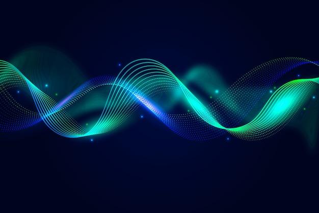 Tema di sfondo colorato onda equalizzatore