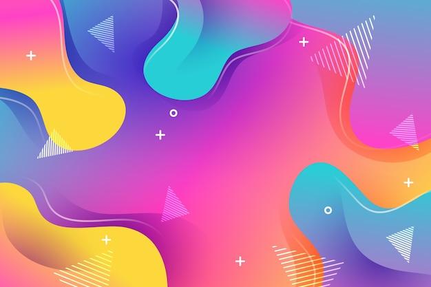 Tema di sfondo colorato