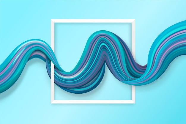 Tema di sfondo del flusso di colore