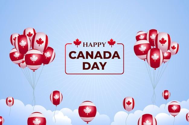 Tema di sfondo del giorno canada