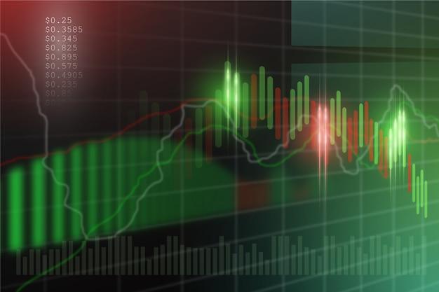 Tema di sfondo del trading forex