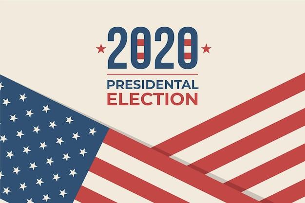 Tema di sfondo delle elezioni presidenziali americane 2020