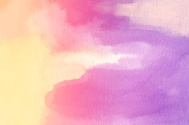 Tema di sfondo pastello dell'acquerello
