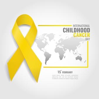 Tema giornata del cancro dell'infanzia