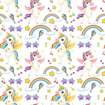 Tema musicale unicorno senza soluzione di continuità