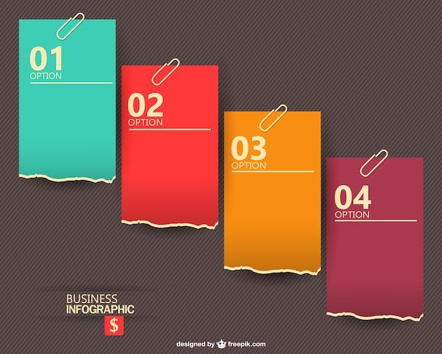 Template omaggio infografica