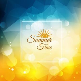 Tempo di estate sfondo luminoso