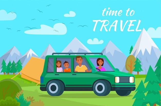Tempo di viaggiare banner orizzontale