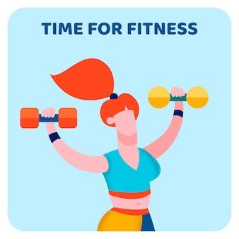 Tempo per il fitness