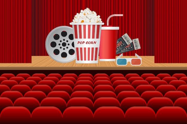 Tempo per l'illustrazione del poster di film