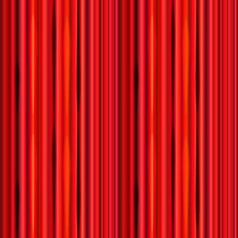 Tenda rossa brillante, modello retrò teatro