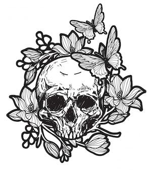 Teschio tatuaggio