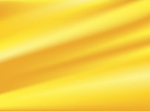 Tessuto di stoffa oro satinato isolato su sfondi di concept design