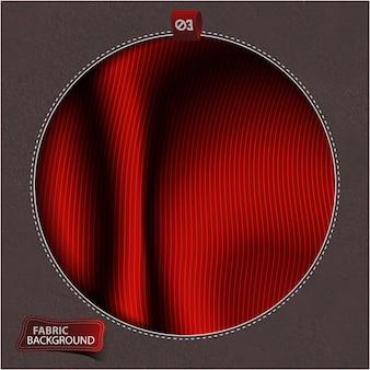 Tessuto rosso sfondo di stoffa