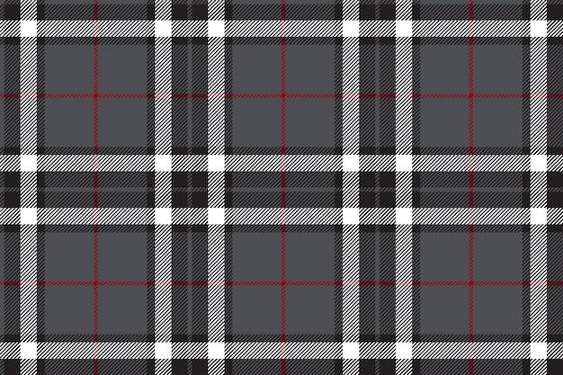 Tessuto scozzese grigio textire senza cuciture