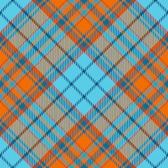Tessuto scozzese scozzese senza cuciture motivo a quadri, trama geometrica quadrata color check vintage,