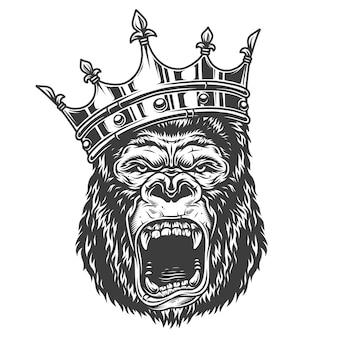 Testa di gorilla