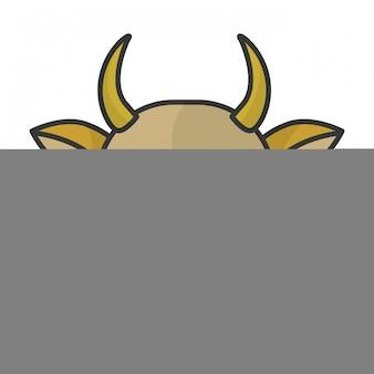 Testa di mucca indiana