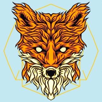 Testa di volpe