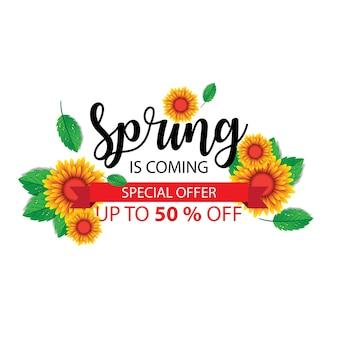 Testo di primavera
