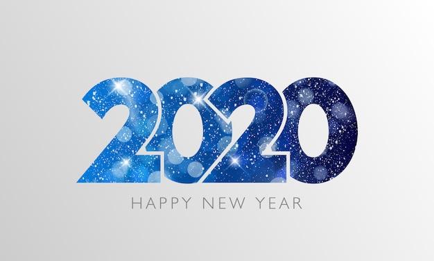 Testo happy new year 2020