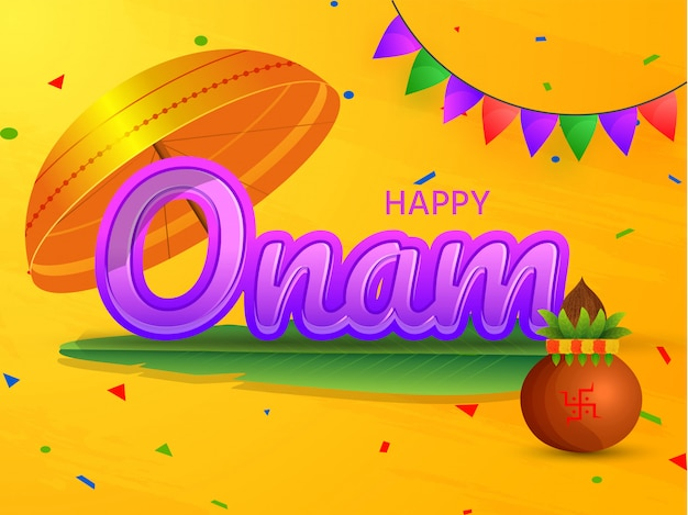 Testo viola happy onam