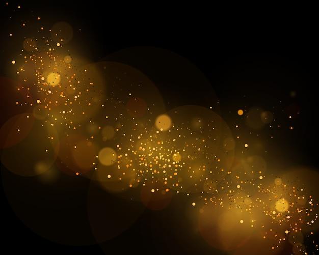 Texture di sfondo astratto bianco e nero o argento, glitter oro ed elegante per natale. bianco polvere. particelle magiche scintillanti. concetto magico. sfondo astratto con effetto bokeh.