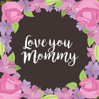 Ti amo carta di mamma