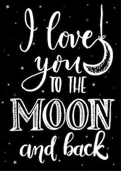 Ti amo fino alla luna e ritorno