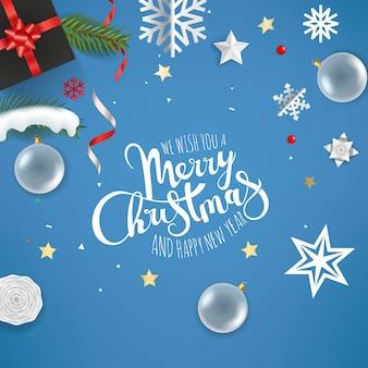 Ti auguriamo buon natale e felice anno nuovo