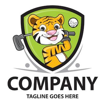 Tiger golfista