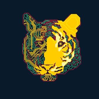 Tigre elettronica