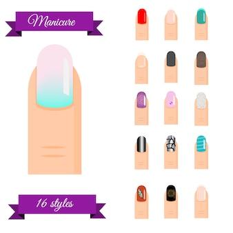 Tipi di manicure