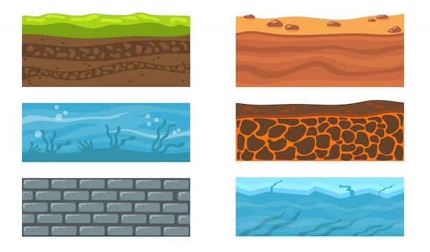Tipi di set da terra