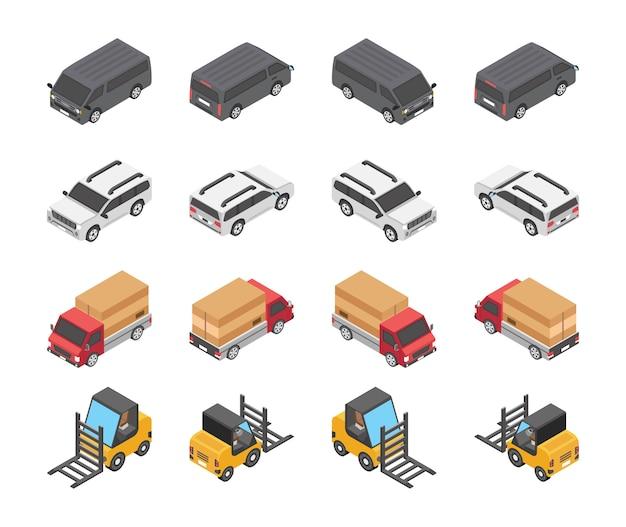 Tipo di set di icone di veicoli