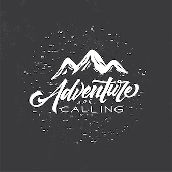 Tipografia badge adventure time