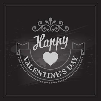 Tipografia carte di san valentino.