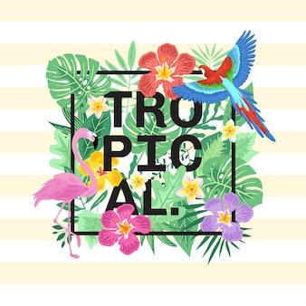 Tipografia tropicale
