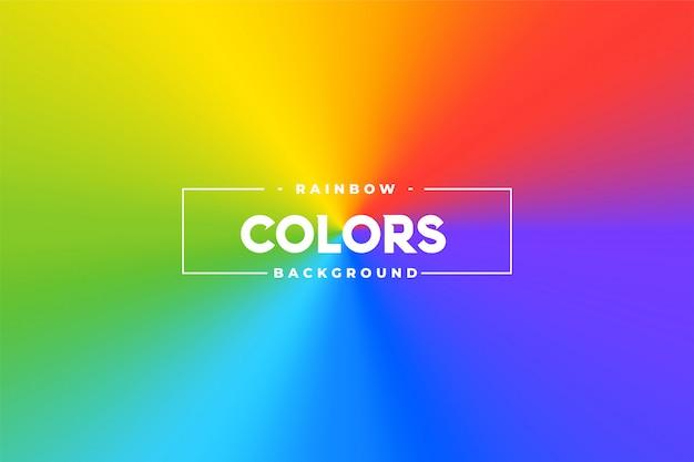 Tonalità di colore conico colorato vibrante sfondo