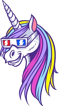 Tonalità unicorn 3d
