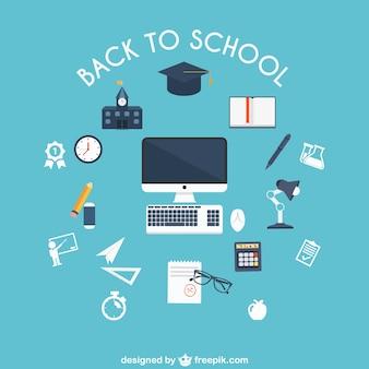 Torna a scuola oggetti