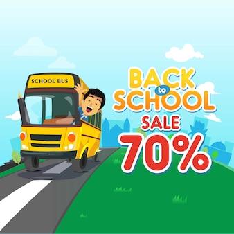 Torna a scuola vendita sfondo