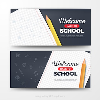 Torna a striscioni di scuola moderni